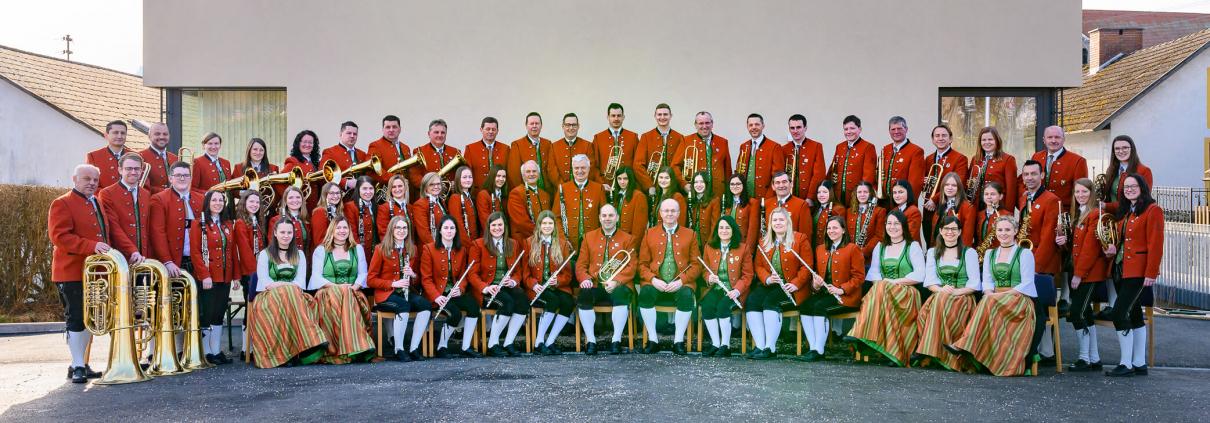 Gruppenfoto Musikkapelle